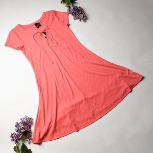 NWT ULTRA FLIRT Super Cute Coral Dress - Juniors M